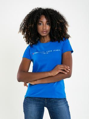 Хлопковая футболка ELAINE 401