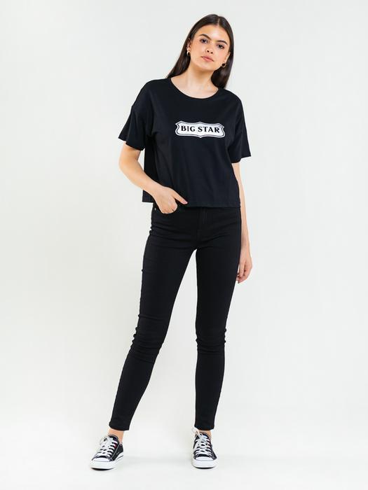 Свободная рубашка с коротким рукавом ELIANA 906
