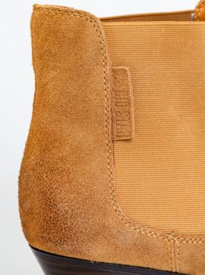 Замшевые полуботинки в ковбойском стиле GG274323 802