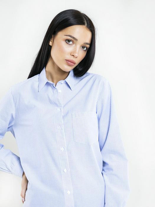 Рубашка в мелкую полоску MIKAYLA 400