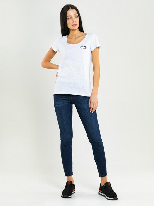 Серая футболка с круглым вырезом MILANI 975