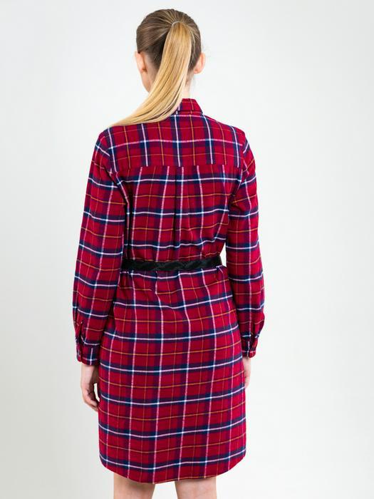 Платье рубашка в клетку PATRISSY 603
