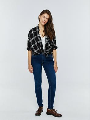Брюки джинсовые ROSE 359